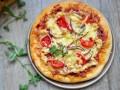 简易芝士火腿肠披萨 (1)
