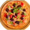 小牛凯西比萨7英寸黑椒牛肉披萨半成品即食匹萨披萨饼满5片送滚刀
