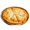 绝世 芝士榴莲披萨 7英寸速冻成品烘焙匹萨pizza