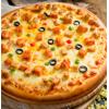 5份包邮半成品披萨冷冻加热即食家庭速食早餐7九英寸比萨饼