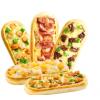 芝士船披萨6种口味pizza早餐速食速冻成品烤箱加热即食咖啡厅小吃